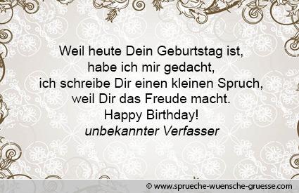 Geburtstagswunsche Spruche Und Gluckwunsche Zum Geburtstag