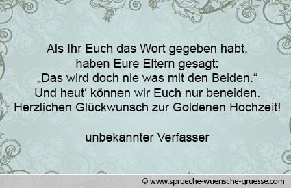 Glückwünsche Zur Goldenen Hochzeit Texte Gratulation Und